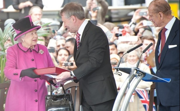 Leicester Sound & Lighting in Control for Royal Visit